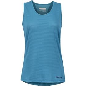 Marmot Aero Naiset Hihaton paita , sininen